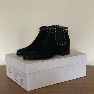 Grey City Wilco Suede Studded Boots (Brand New)